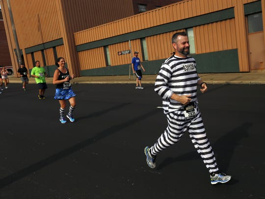 Eric Marcotte, of Paris, Kentucky, races in prison