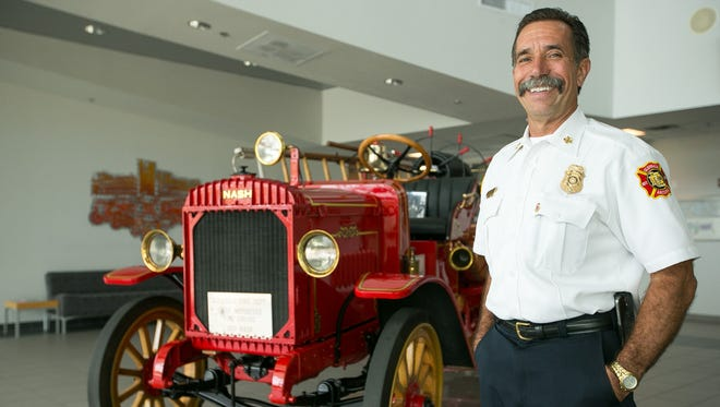 Mark Burdick will retire in May after a 32-year career with the Glendale Fire Department, the past 13 as chief.