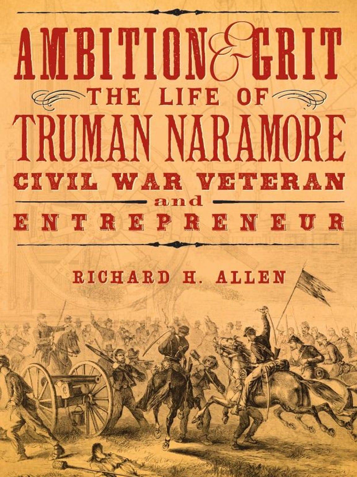 The front cover of Richard H. Allen's book on Truman