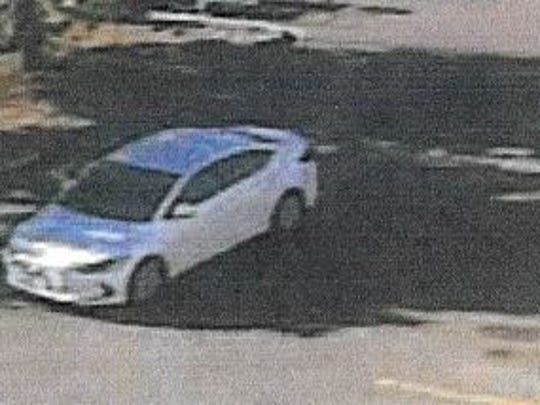 This the car driven by a suspect in a string of credit