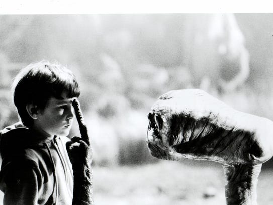 """E.T. the Extra-Terrestrial"" is marking its 35th anniversary."