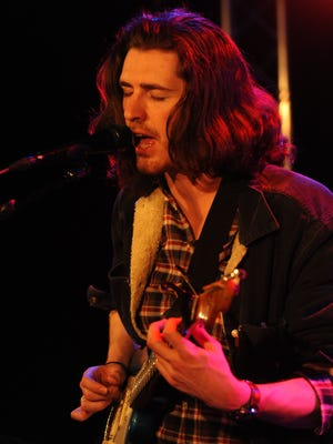 Hozier, in an appearance for USA TODAY's Studio A.