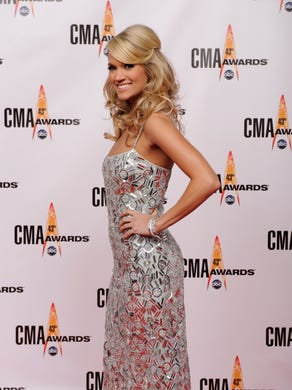 Carrie at the CMAs in 2009.