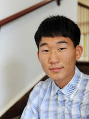 Salinas High co-valedictorian Eric Kim, photographed