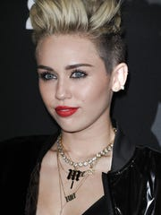 Miley Cyrus seen here attending a Myspace event in