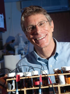 Ken Reardon, Professor of Chemical and Biological Engineering, researches Enzymatic Optical Biosensors in the Bioanalytical Devices Laboratory in the Glover building. March 26, 2010Ken Reardon, Professor of Chemical and Biological Engineering, researches Enzymatic Optical Biosensors in the Bioanalytical Devices Laboratory in the Glover building. March 26, 2010Ken Reardon, Professor of Chemical and Biological Engineering, researches Enzymatic Optical Biosensors in the Bioanalytical Devices Laboratory in the Glover building. March 26, 2010Ken Reardon, Professor of Chemical and Biological Engineering, researches Enzymatic Optical Biosensors in the Bioanalytical Devices Laboratory in the Glover building. March 26, 2010