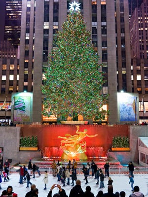 The Rockefeller Center Christmas tree is one of New York's most beloved holiday attractions.