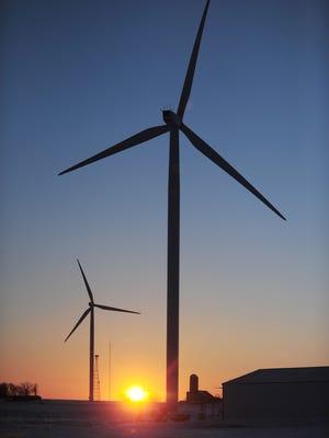 File/Press-Gazette Media Shirley Wind Farm, Glenmore Shirley Wind Farm, Glenmore