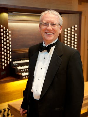 Organist Christopher Young.