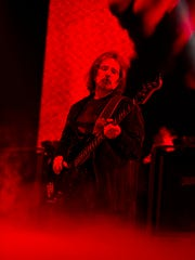 Geezer Butler performs on Black Sabbath's The End Tour