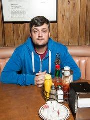 Comedian Nate Bargatze's publicity shot