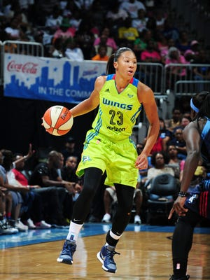 Dallas Wings forward Aerial Powers was named to the WNBA All-Rookie team on Thursday.