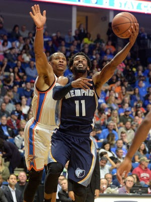 Memphis Grizzlies guard Mike Conley Has turned the ball over only twice in 89 minutes of preseason play.