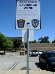 Abilene also has a designated exchange zone for people buying and selling on craigslist or social media.