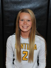 Ventura High's Mary Sinclair was named to the All-Channel League girls volleyball first team.
