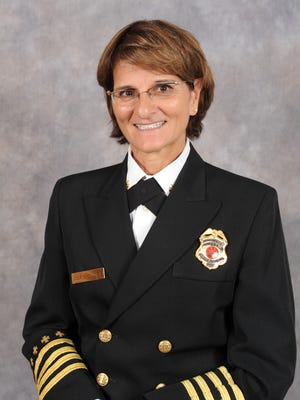 Mesa named Mary Cameli as its fire chief on Dec. 1, 2016. Cameli has been with the department for more than 30 years.