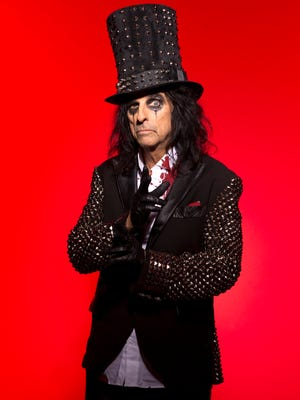 Alice Cooper will be performing at the American Bank Center on May 10, 2017. Tickets go on sale Friday.