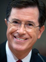 Stephen Colbert, June 30, 2011 file photo,