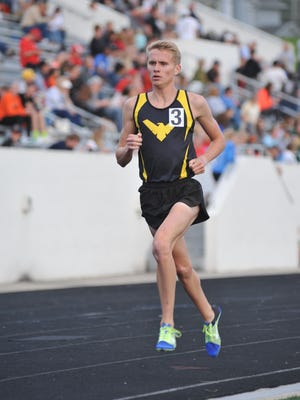 Chad Johnson comes into the state tournament with the No. 1 time in Division III in the 3200 run.