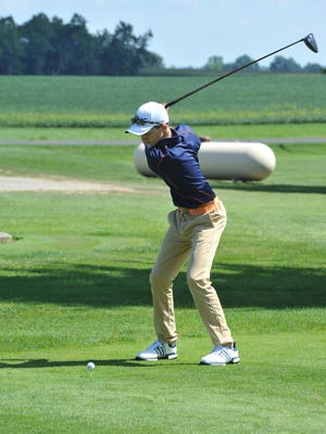 Freshman Matt McMullen has impressed in his first season with Galion and the Tigers will look to advance as a team to the district tournament.