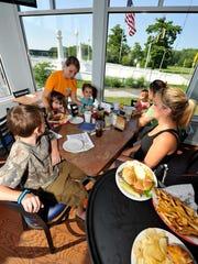 At Riverside Grill on the Pocomoke River in Pocmoke
