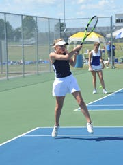 Katherine Talbott will step into the No. 1 singles position this year after three seasons as the team's No. 2.