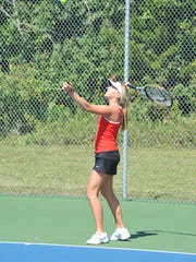 Alivia Lewis and the Lady Redmen kick off their season Friday.