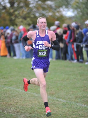 Lexington senior Ryan Johnston finished in first place at the Division II Tiffin Regional on Saturday