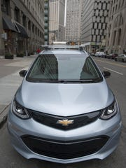 2017 Chevy Bolt EV.