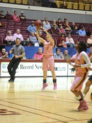 Lisa Hampton made 154 3-pointers at Midwestern State