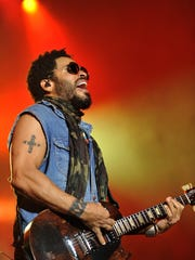 Lenny Kravitz performs Sept. 5 at the Fox Theatre.