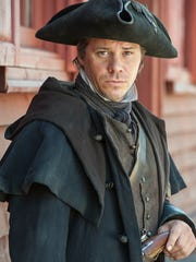 "Michael Raymond-James plays Paul Revere in the upcoming History miniseries ""Sons of Liberty,"" premiering at 8 p.m. Jan. 25."