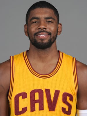 Cavaliers guard Kyrie Irving