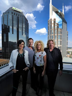 Little Big Town consists of, from left, Karen Fairchild, Jimi Westbrook, Kimberly Schlapman and Philip Sweet.