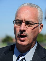 Davidson County Sheriff Daron Hall favors moving the jail at the Criminal Justice Center elsewhere.
