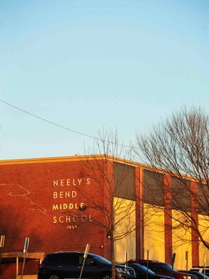 Neelys Bend Middle School is to be turned over to a charter school courtesy of the state-run Achievement School District in Nashville, Tenn. December 12, 2014.