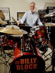Billy Block began playing drums as a kid in Texas.