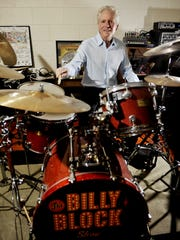 Billy Block began playing drums as a kid in Texas.