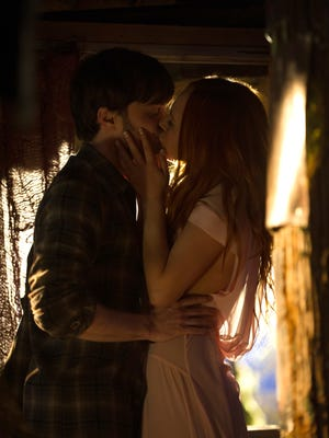 """Daniel Radcliffe and Juno Temple in a scene from """"Horns."""""""