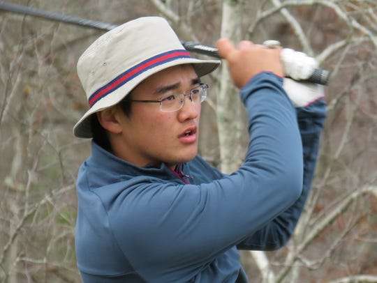 Senior Ryan Lee finished eighth to help Northern Valley