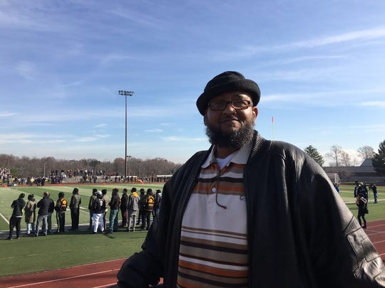 David Meadows, 1985 Piscataway High School graduate, never misses the Thanksgiving Day game.