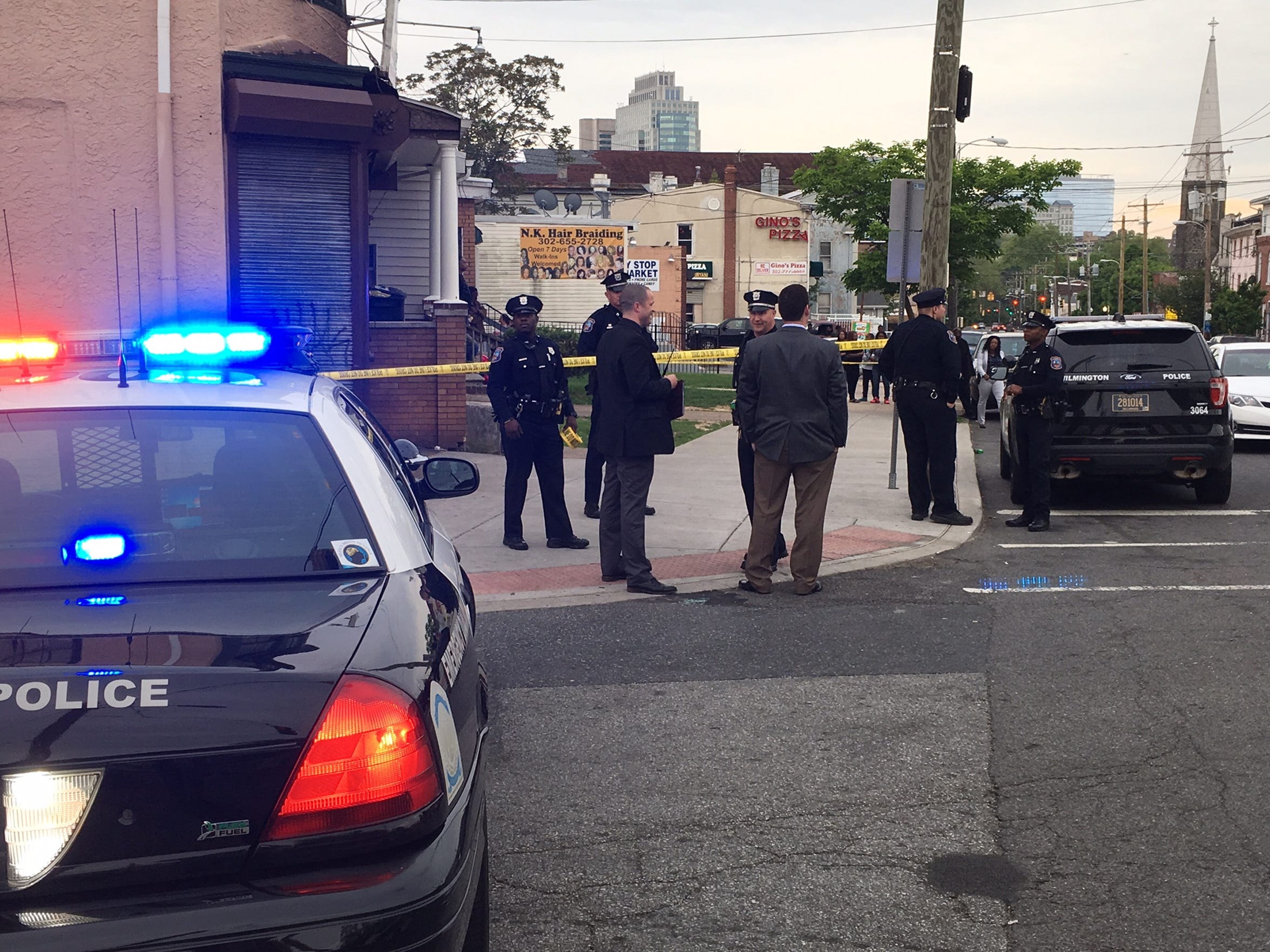 Police investigating a shooting in which a 14-year-old boy was injured.