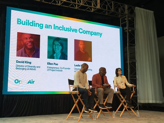 At Airbnb Open Air, guests talk about building an inclusive