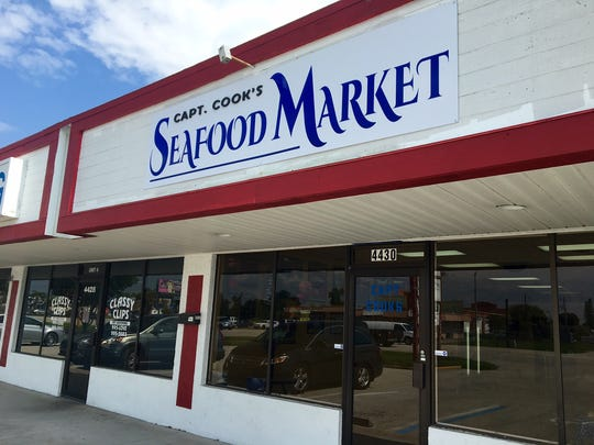 Capt Cook's Seafood Market is at 4430 Hancock Bridge