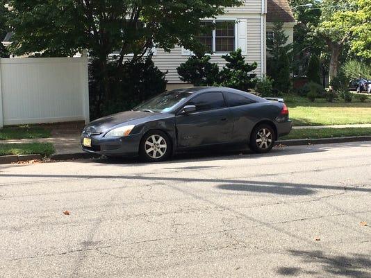 The car Mayor Steinman hit