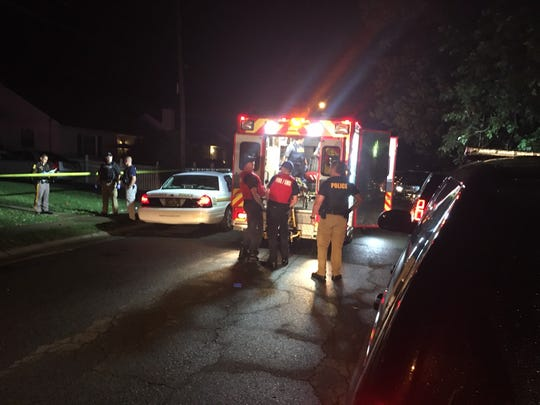 A man was critically injured after he was shot during a home invasion near New Castle.