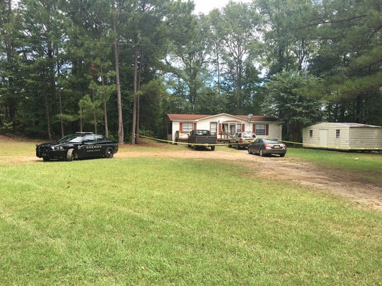 The incident occurred at the family's residence on Lindsey Road in Eclectic.