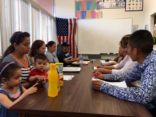 Immigrants in an Oxnard citizenship class say they worry that Donald Trump's immigration policies will split up families.