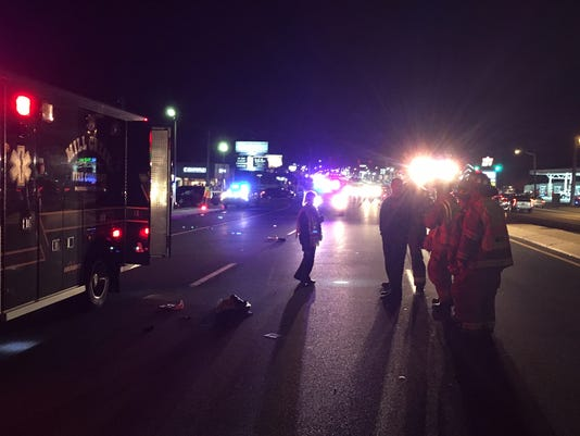 Kirkwood Highway pedestrian struck