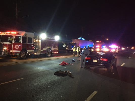 Crash closes Concord Pike